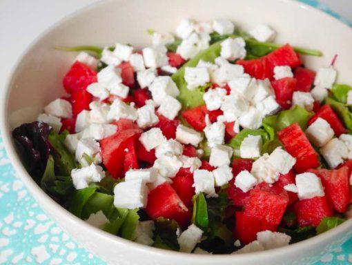 Watermeloen salade