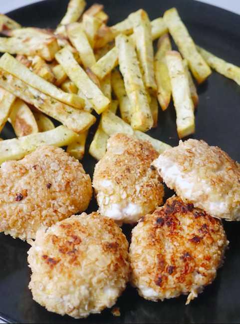Kipnuggets en patat